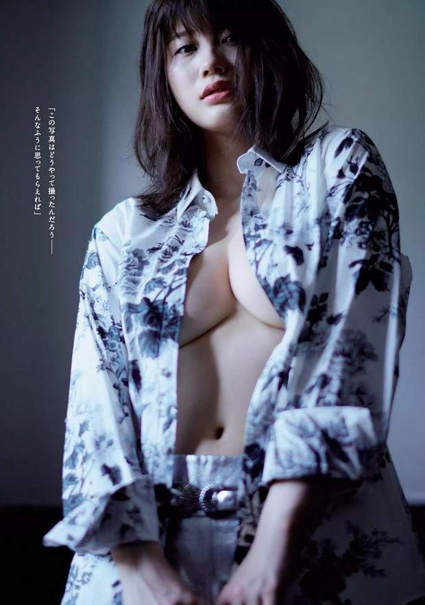 【捕鱼王】真人版峰不二子《小仓优香》七月的最新写真集
