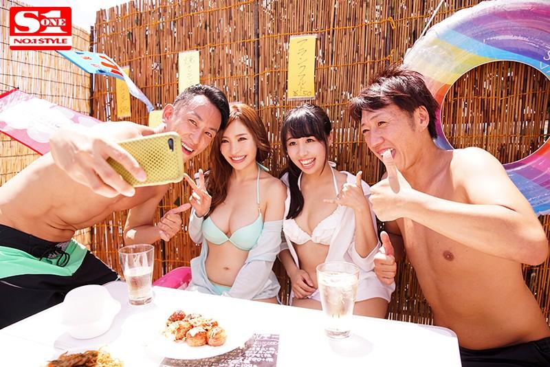 【捕鱼王】露面去海边玩耍!葵被搭讪玩杂交!