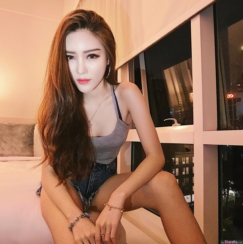【捕鱼王】女模正妹Jenn曾薇仪 纤细修长性感美腿撩动你心