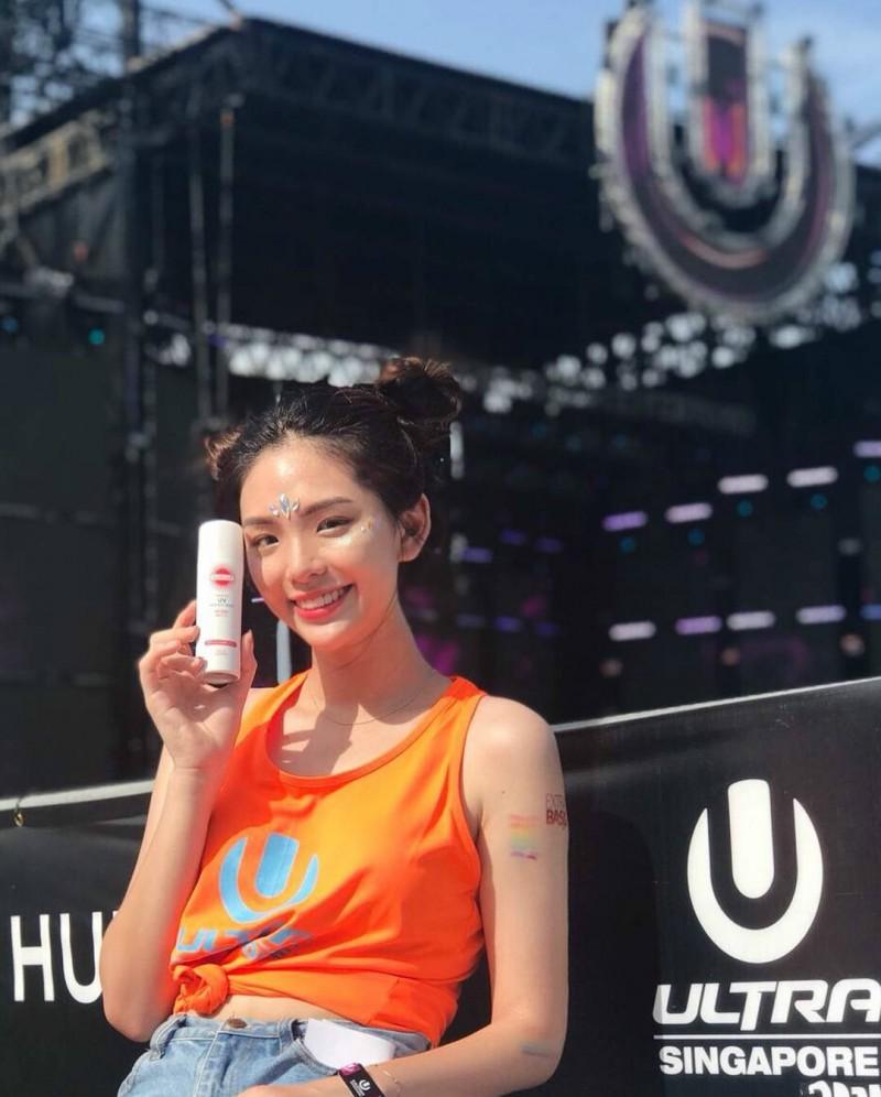 【捕鱼王】新加坡正妹Jamie Lau 甜美迷人微笑超疗愈