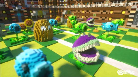 【捕鱼王】《迷你世界》自定义模型有多强?玩家还原植物大战僵尸好评爆表